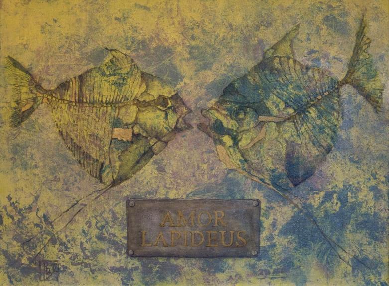 Amor lapideus (60x80 in Öl)