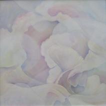 Duft der Blumen, Öl, 60x60