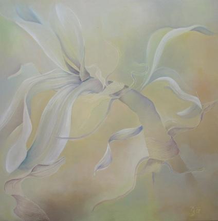 Orchidacea, Öl, 100x100